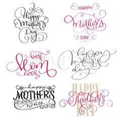 Set of texts for Mothers Day. Best Picture For Mothers Day Quotes Happy Mothers Day Letter, Happy Mother S Day, Mothers Day Crafts, Mother Day Gifts, Mothers Day Text, Mabon, Samhain, Happy Mother's Day Calligraphy, Calligraphy Cards