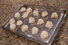 Macaroons from leftover Coconut Milk Pulp
