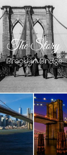 Brooklyn Bridge construction took 14 years to complete with more than 600 workers involved in the project and a cost $15 million dollars. Brooklyn Bridge | brooklyn bridge history | brooklyn bridge photography | brooklyn bridge quotes | brooklyn bridge engagement photos