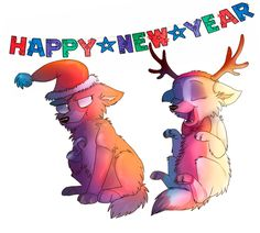 Happy New Year! by Darkpaw2001 on DeviantArt