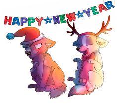 Happy New Year! by Darkpaw2001 on DeviantArt