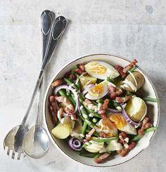 Salade liégeoise au dressing à la mayonnaise