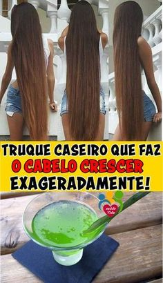 Projeto Along Hair Natural Hair Care, Natural Hair Styles, Long Hair Styles, Cabello Hair, Hair Care Recipes, Essential Oils For Skin, Hair Oil, Health Problems, Diy Hairstyles