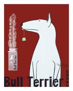 Bull Terrier -tee Posters tekijänä Ken Bailey AllPosters.fi-sivustossa