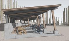 Tiger Mountain Viewpoint & Mountain Biking Shelter | Upward Architecture & Interiors | Archinect