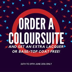 Exclusive for the next few days ONLY! #coloursuite #lacquer #freebies #exclusive #jamfling