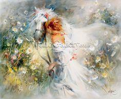 White Dream Art Print by Willem Haenraets - WorldGallery.co.uk