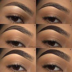 Eyebrow Makeup Tips, Eyeshadow Makeup, Beauty Makeup, Makeup Brushes, Hair Makeup, 90s Makeup, Makeup Bags, Eyebrow Pencil, Makeup Shop