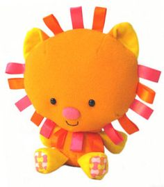 Leo the Lion by Kokma on Etsy, $30.00