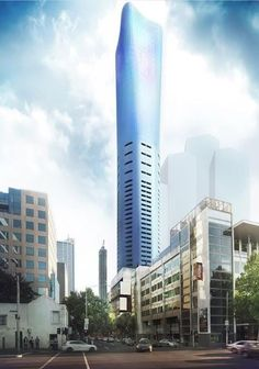 Brâncuși-Inspired 295 King Street Wins Approval in Melbourne,Courtesy of Plus Architecture