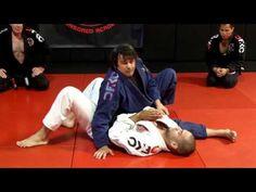 Jiu Jitsu Techniques - Side Control Attack, Americana, Omoplata, Triangle, and Armbar - YouTube