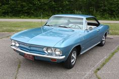 1966 Chevy Corvair Coupe