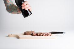 Fresh Pepper on Beef Tataki