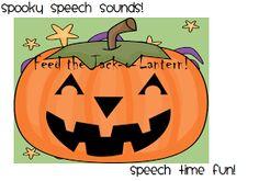 Speech Time Fun: Spooky Speech Sounds!