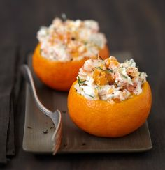 Clémentines aux crevettes et Carré Frais – Anna Souv - Let's Pin This Cooking Time, Cooking Recipes, Healthy Recipes, Brunch Recipes, Appetizer Recipes, Tapas, Fingers Food, Good Food, Yummy Food