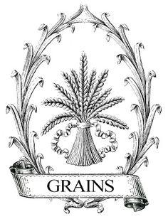 Grain Sack Printable Image Transfer