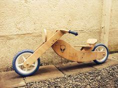 Bicicleta Choper de Terciado, hecha por mi y listas para comenzar su venta