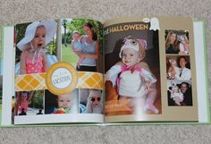 Make a yearly photo book for each child...