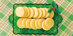 These simple cookies are an easy way to produce a delicious treat for yourself, your family or guests. Whipped Shortbread Cookies, Butter Cookies Recipe, Shortbread Recipes, Yummy Cookies, Cookie Recipes, Christmas Goodies, Christmas Treats, Holiday Treats, Holiday Recipes