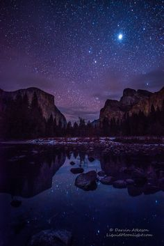 Yosemite Valley by Starlight by Darvin Atkeson on 500px