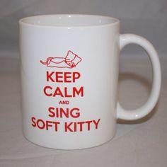 Sheldon's coffee mug
