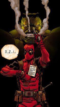 Deadpool and Hulk Wallpaper