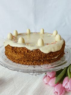 Rezept: @cakies.grz #carrotcake #glutenfree #glutenfrei #rezept Fondant, Carrot Cake, Gluten Free, Cakes, Desserts, Food, Recipies, Glutenfree, Tailgate Desserts