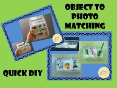 A quick DIY Object to Photo Matching System