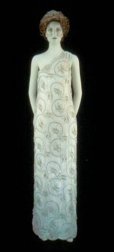 Nancy Reagan's Inaugural Ball Gown  1981 Presidential Inauguration    Nancy Reagan's 1981 inaugural ball gown, designed by James Galanos