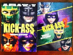 Kick Ass & Kick Ass 2 on DVD  Just $5.99 now on eBay for both movies!!!