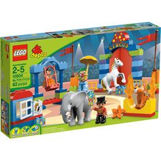 LEGO DUPLO Circus -- Amelie's first set gifted to her by the people that made it - LEGO!