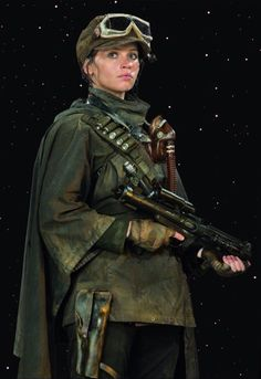 Jyn Erso Rogue One costume reference