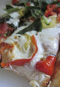 Red and Green Tomato Pizza Sauce - another recipe to use up those green tomatoes