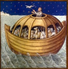 ... who were the women on Noah's ark? Description from floodofnoah.com. I searched for this on bing.com/images:
