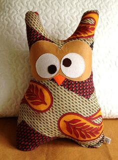 Owl Pillow by SALACO Craft