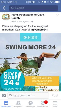 Swingathon Instagram Plan, Who Will Win, Non Profit, Charity, Foundation, Facebook, How To Plan, Foundation Series