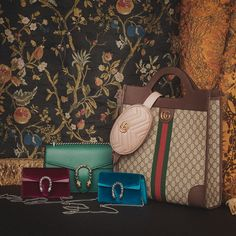 "7305ae05c0cdea Mytheresa on Instagram: ""ULTIMATE BAGS: Get to know @gucci's ultimate bags.  Armed with retro character and wear-with-anything ease, these iconic  designs ..."