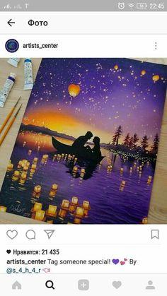 Trendy Ideas For Pastel Art Ideas Artworks Disney Kunst, Art Disney, Disney Crafts, Disney Paintings, Oil Pastel Art, Oil Pastel Paintings, Oil Pastel Drawings, Painting & Drawing, Drawing Base
