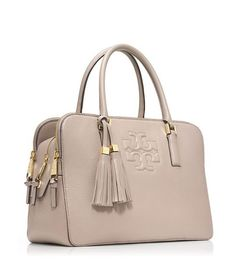 *****THIS ONE IS MY FAVORITE***** THEA TRIPLE-ZIP SATCHEL - DUST STORM