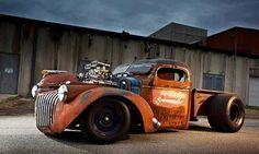 Rat Rod Truck.