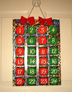shopping bag advent calendar