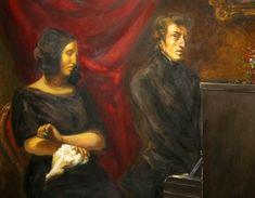 Retrato de Frédéric Chopin y George Sand, 1838 - Eugène Delacroix George Sand, William Turner, Nocturne, Love Island Winner, Women In France, Eugène Delacroix, Sand Writing, A Fine Romance, Hermann Hesse