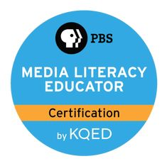 By becoming a PBS Certified Media Literacy Educator you demonstrate your expertise in teaching students to produce media that matters and to think critically about their role as media consumers and creators.