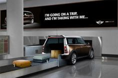 Collection of Clever and Creative MINI Cooper Advertisements from all over the world.