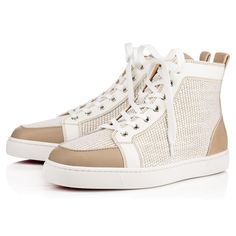 CHRISTIAN LOUBOUTIN Rantus Men s Flat Version Galet Leather - Men Shoes -  Christian Louboutin.   ccd1a8674dee