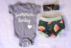 Summer baby clothes Coming home outfit summer baby girl Summer