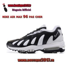 official photos 9de83 3a214 Funny Shoes · Nike Air Max 96 Noir Blanc boutique2017