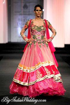 Anjalee & Arjun Kapoor bridal lehenga