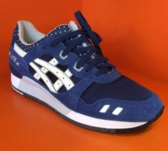 Asics Gel Lyte iii 3 Royal Blue/Glow UK 7-12 in Clothes, Shoes & Accessories, Men's Shoes, Trainers | eBay