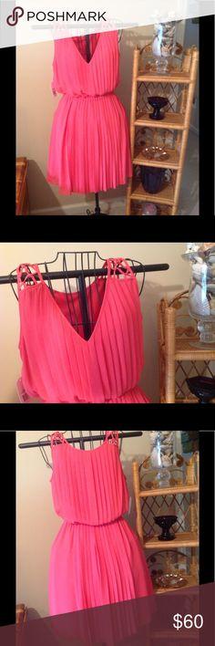 Jessica Simpson Sleeveless dress. Sz. 6. Never worn, coral sundress. Jessica Simpson Dresses